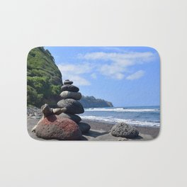 Pololu Valley Hawaii Big Island Bath Mat