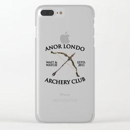 archery Clear iPhone Case
