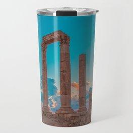 Hercules Temple Travel Mug