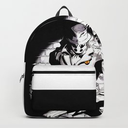 Rorschach Inspired Illustration Backpack