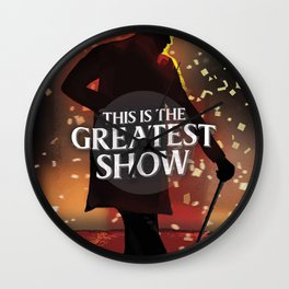 The Greatest Showman. Wall Clock