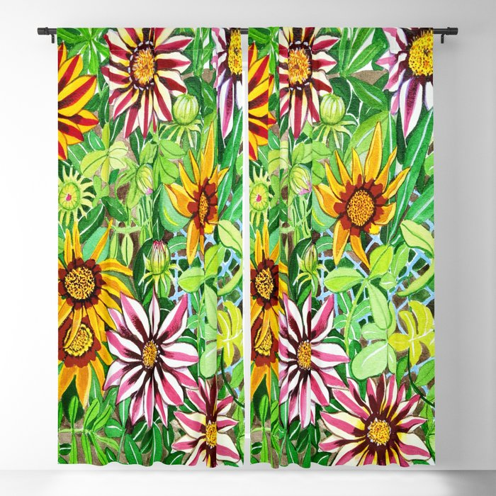 Gazanias Blackout Curtain