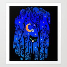 ✨ ✧ The Cat 🐈 Art Print