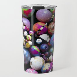 Bead Crazed Travel Mug