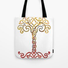 Woven Tree of Life Tote Bag