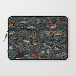 Sea & Ocean Life Maritime Pattern Laptop Sleeve