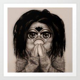 Furby Björk - Debut Art Print