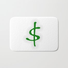 Shrinking Dollar Bath Mat