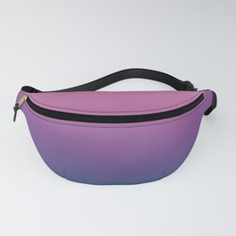 Pastel Gradient Pink Lavender Ultra Violet Arcadia Pattern | Pantone colors of the year 2018 Fanny Pack