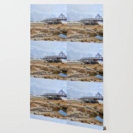 Fog on Good Harbor Beach Wallpaper
