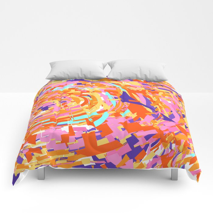 Color Shatter Comforters