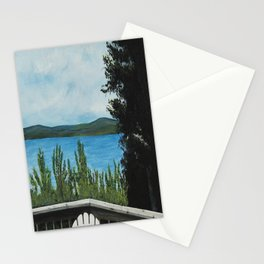 LOOKING OUT MY BACK DOOR Stationery Cards