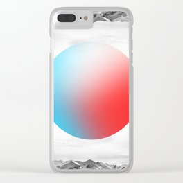 Impossible Worlds Clear iPhone Case