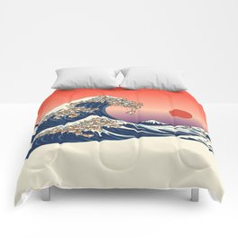 The Great Wave of Shiba Inu Comforters