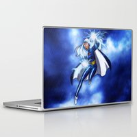 xmen Laptop & iPad Skins featuring Storm  by DaniSantos