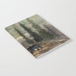 Mountain Black Bear Notebook
