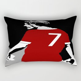 Liverpool FC Legendary No.7 Kenny Dalglish  Rectangular Pillow