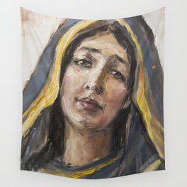 Beloved mother Wall Tapestry