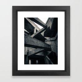 Shanghai Abattoir Framed Art Print
