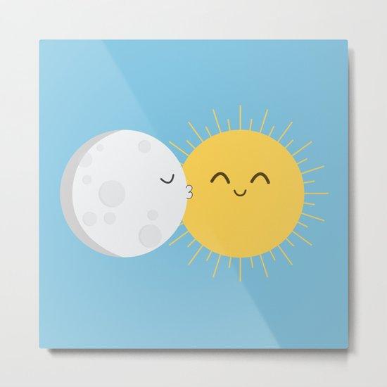 I Love You Sun! Metal Print