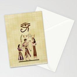 Calling to the Gods Egyptian Folk Art Stationery Cards
