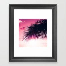 Earth Heart Kahakai Framed Art Print