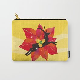 Happy Red Christmas - A Stroke of Good Fortune Carry-All Pouch