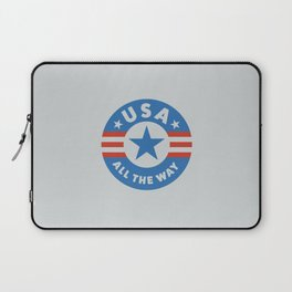 USA ALL THE WAY Laptop Sleeve