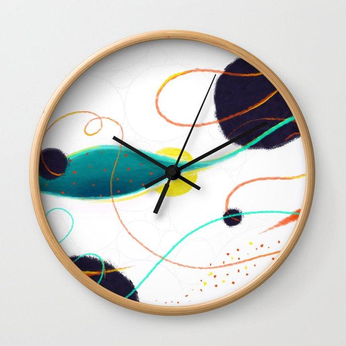 Fishing Hole Wall Clock