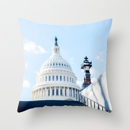 Our Nation's Capital Throw Pillow