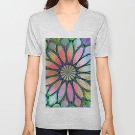 Tropical Flower Dream Unisex V-Neck
