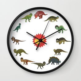 Dinorockers Wall Clock