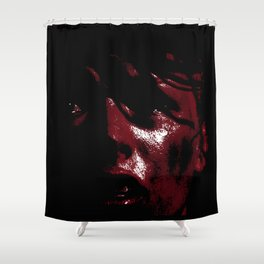 Leeloo Red - Fifth Element Painting Shower Curtain