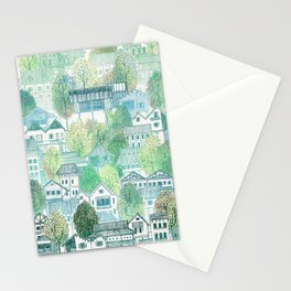 Jungle Village Stationery Cards