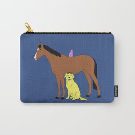 Animals from Hollywoo Carry-All Pouch