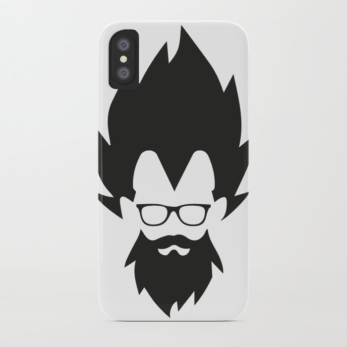 Vegeta Hippster iPhone Case