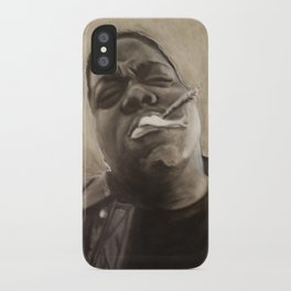 Biggie in Charcoal iPhone Case