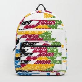 risa  fragmentada Backpack