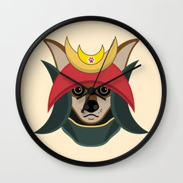 Daimyo Dog Wall Clock