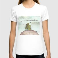 happiness T-shirts featuring Happiness  by Maria Durgarian