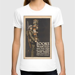 Vintage poster - Books Wanted T-shirt