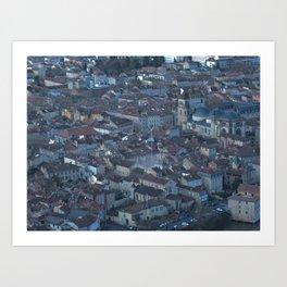 Superman in Cahors Art Print