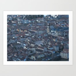 Superman in Cahors Art Print