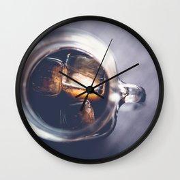 Iced Coffee Wall Clock