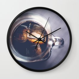 Iced Coffee Wall Clock