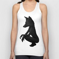 lady Tank Tops featuring The Silent Wild by Ruben Ireland