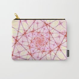 Neural Network Spiral Carry-All Pouch