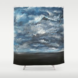 The Sun is Coming (Lista) by Gerlinde Shower Curtain