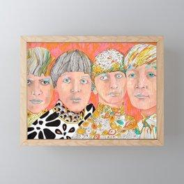 The Mop Tops John Ringo Paul George Framed Mini Art Print