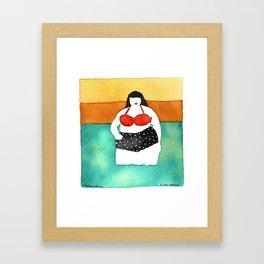 Cherry Stems Framed Art Print